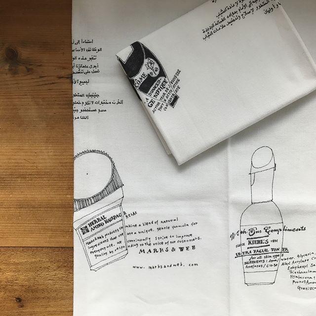.オンラインストア/ card-ya「手描きイラスト手ぬぐい」を追加いたしました。 #手ぬぐい #ハンカチ #ふきん.patrone.stores,jp